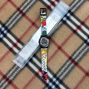 Vintage 1992 Swatch Watch